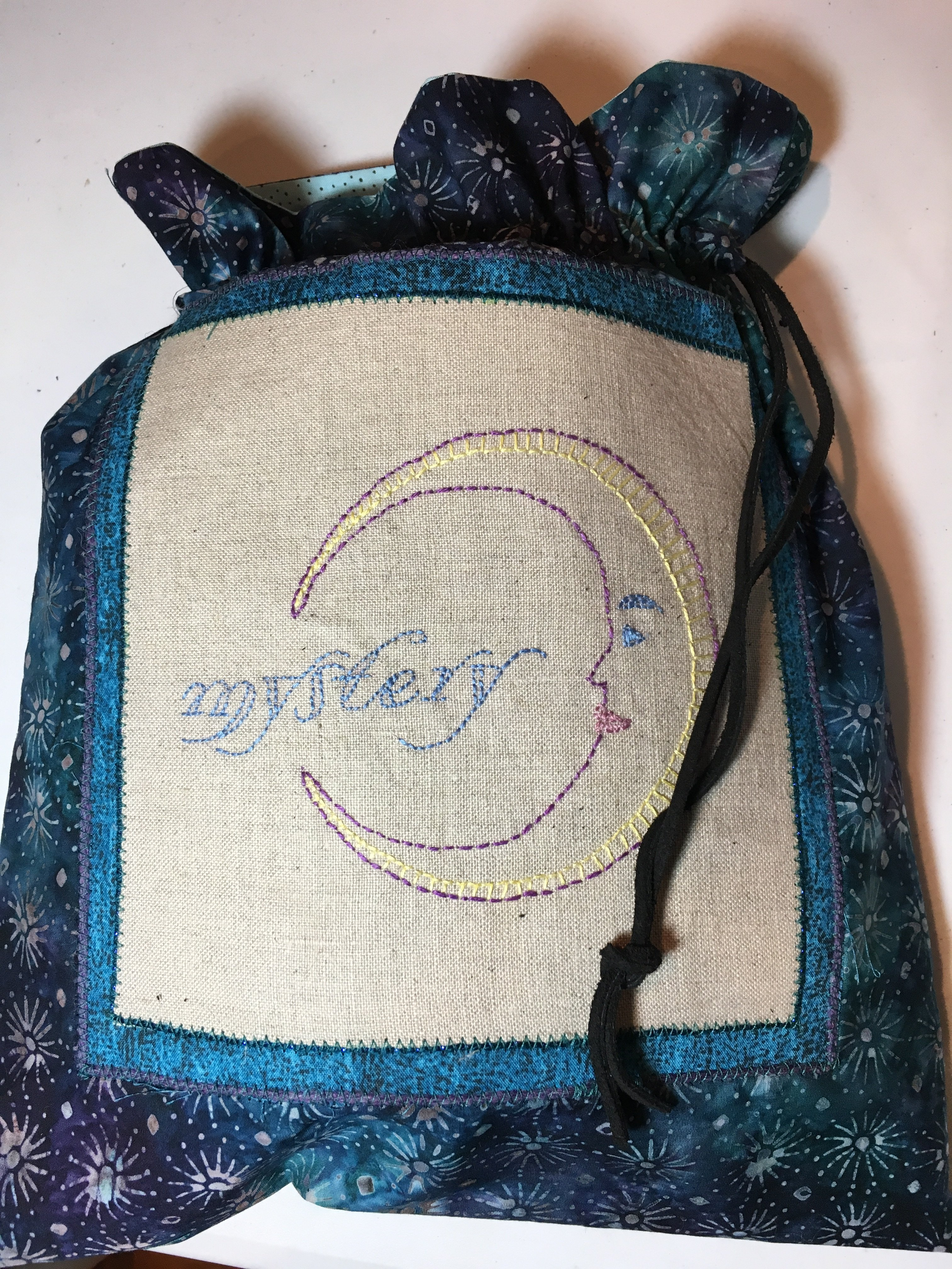 Hand Embroidered mystery bag