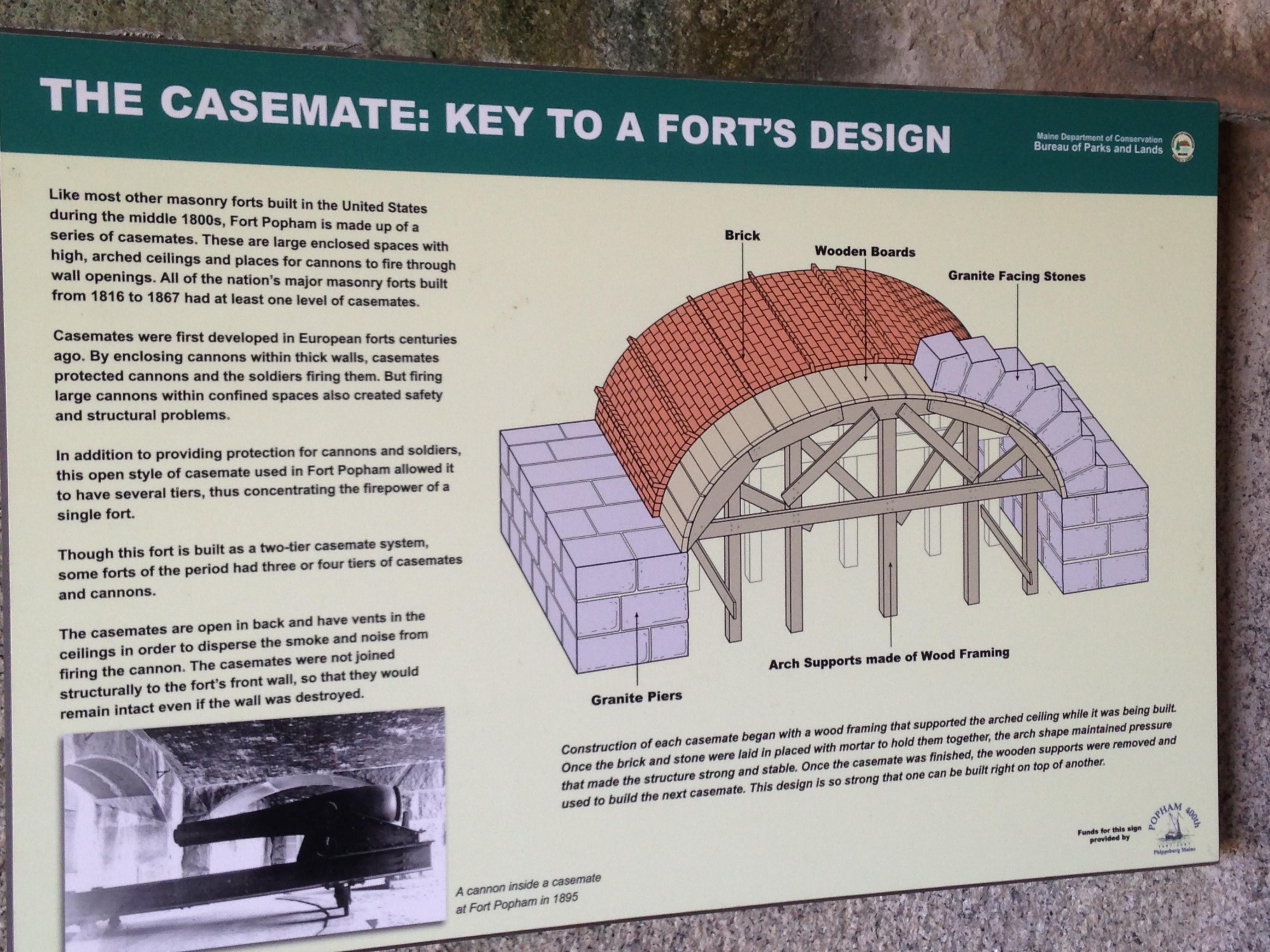 casemate design