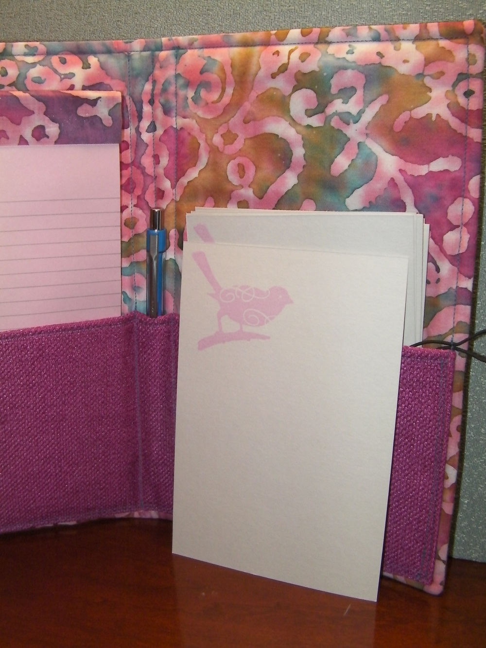 bird journal wrap notecards