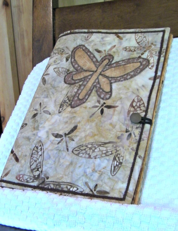 dragonfly notebook holder