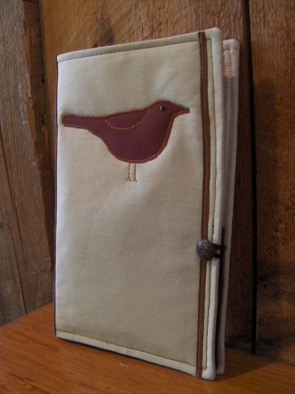 red bird journal cover