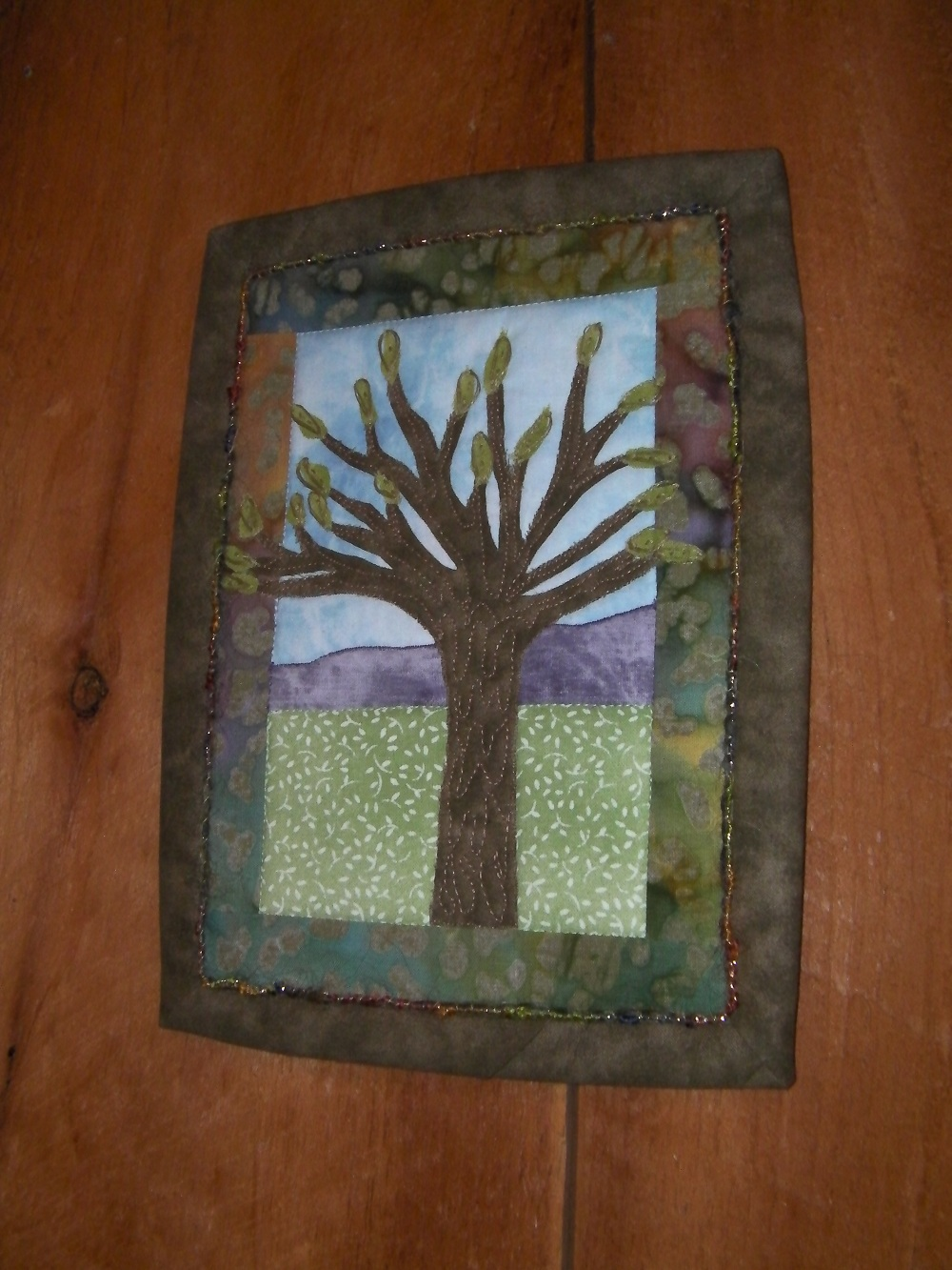 Spring Tree Wallhanging