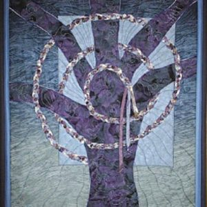 Celtic Tree Art Quilt