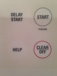 Help vs. Clear buttons