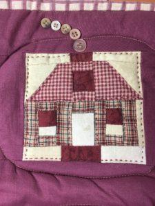 Gram's Quilt House Block